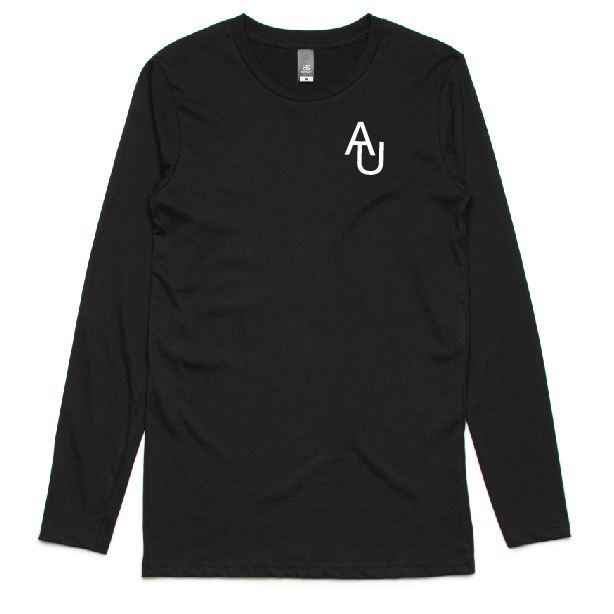 Adelaide Uni Black Long Sleeve T-shirt