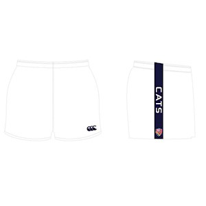 Blyth Snowtown Navy & White Canterbury Shorts