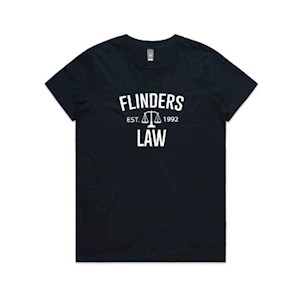 Flinders Law T-shirt Women- Navy