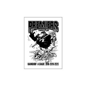 Hahndorf FC 2020 Premiers A1 Posters