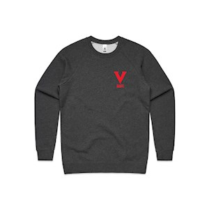 NAFC 2020 Embroidered Crew - Charcoal