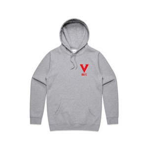 NAFC 2020 Embroidered Hoodie - Grey Marle