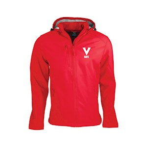 NAFC V softshell jacket RED