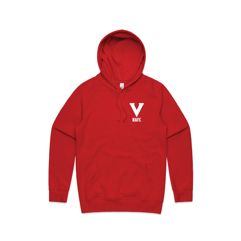 NAFC 2020 Embroidered Hoodie - Red