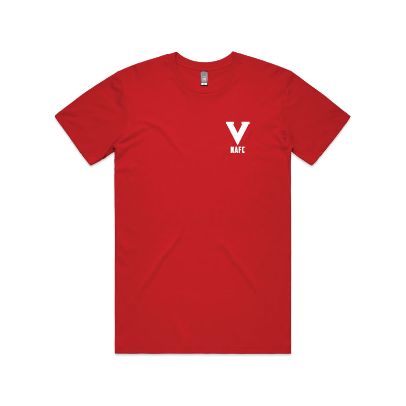 NAFC 2020 Embroidered Tee - Red