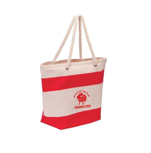 NAFC ROOSTERS PREMIERS CANVAS TOTE