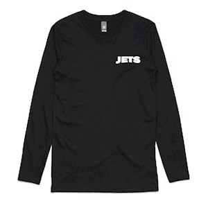 Unley Jets Bold LS T-Shirt