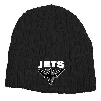 Unley Jets Cable Knit Beanie