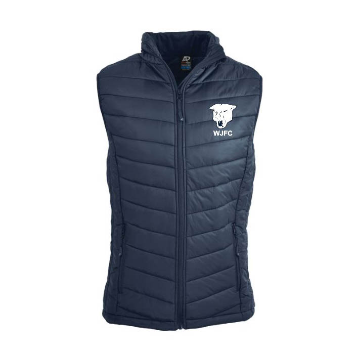 Walkerville Junior FC Puffer Vest