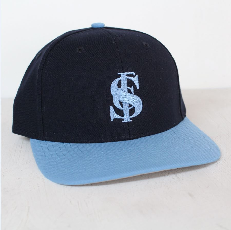 Sturt FC 2 Tone Adjustable Flat Peak Cap